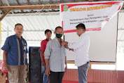 Kukuhkan Pengurus Lak-Ham Lutim, Arham MS Singgung Soal Izin Tambang