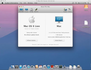 Howto install OSX 10.7 Lion in vmware