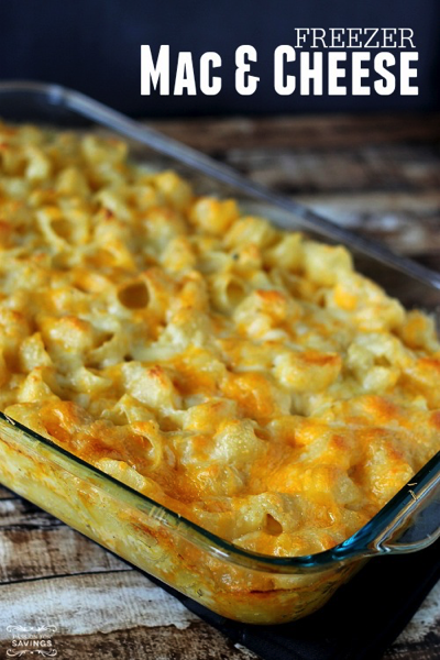 Freezer Mac and Cheese