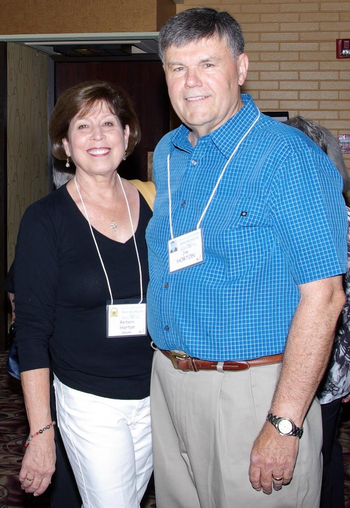 Barbara and Jim Horton