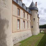 Château de Malesherbes : douves sud-ouest