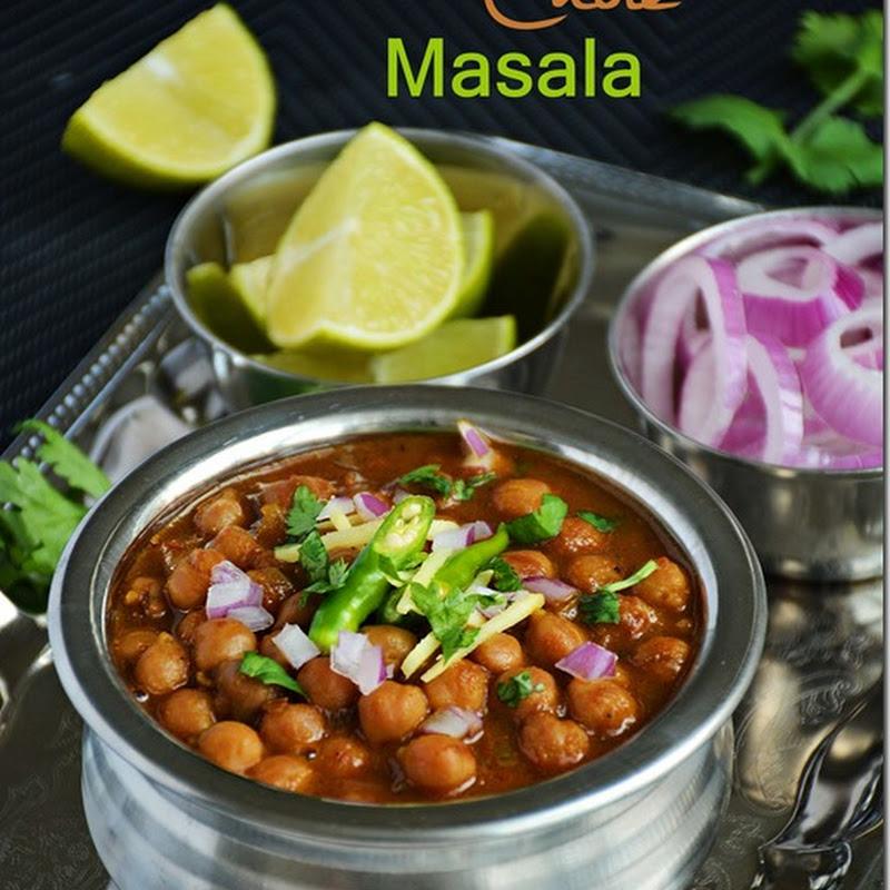Chole bhatura / chole masala for bhatura