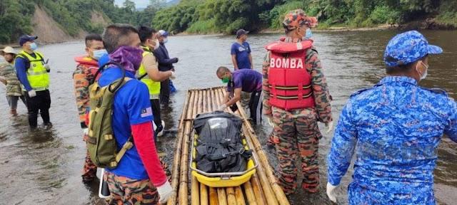 Lelaki hilang di Sungai Padas ditemukan lemas