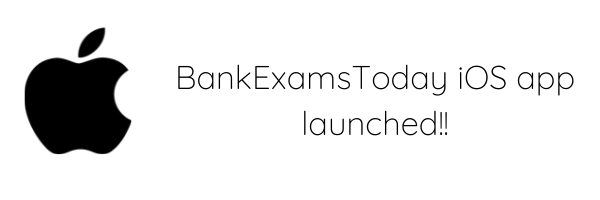 BankExamsToday iOS app launched!!!