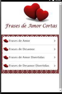 Frases De Amor Cortas Aplikasi Di Google Play