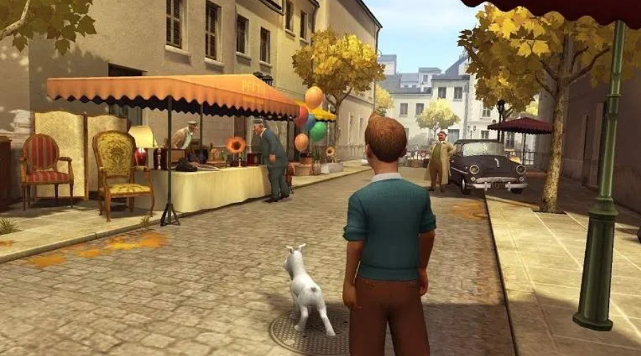 The Adventures of TINTIN Remastered On Android