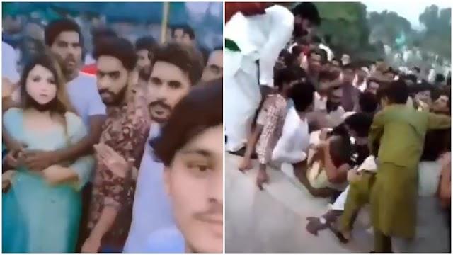 Bintang TikTok diseret, diraba 400 lelaki Pakistan...barang kemas mangsa turut dicuri selain pakaiannya dikoyak.