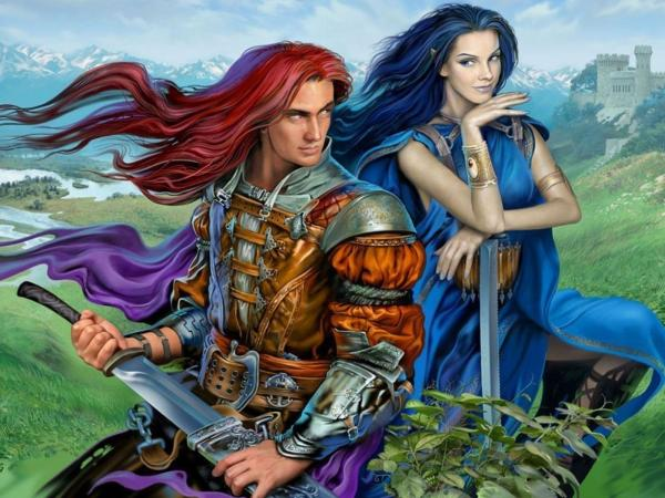 Elf Princess And Knight, Elven Girls 2