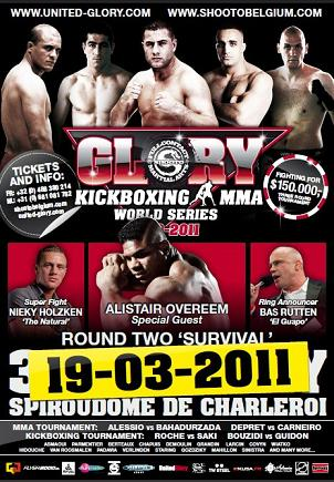 Glory World Series: Second Round (Videos)