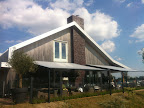 Restaurant Long Island in de schaduw