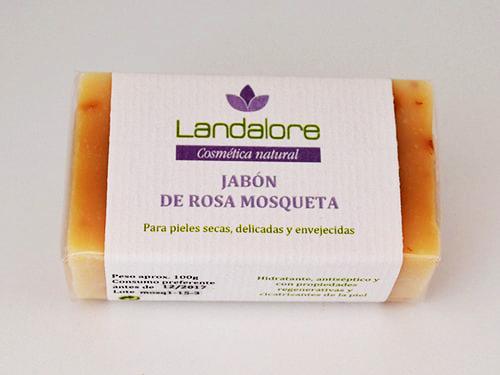 Jabón Natural de Rosa Mosqueta Landalore