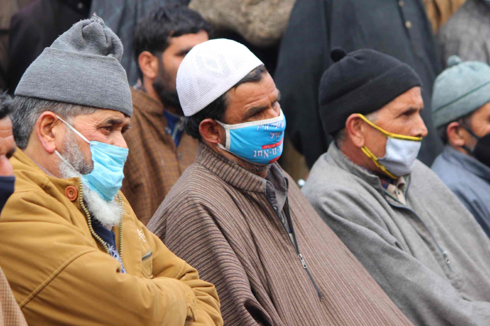 Hopeful old aged persons hoping that their demand for merger with Pulwama district will be fulfilled very soon