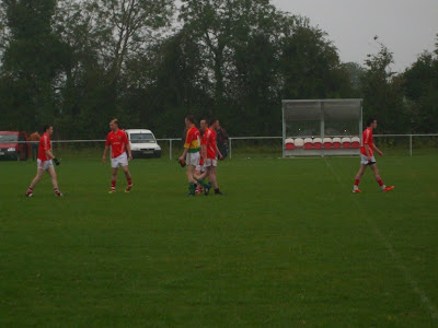 Edenderry players after the game