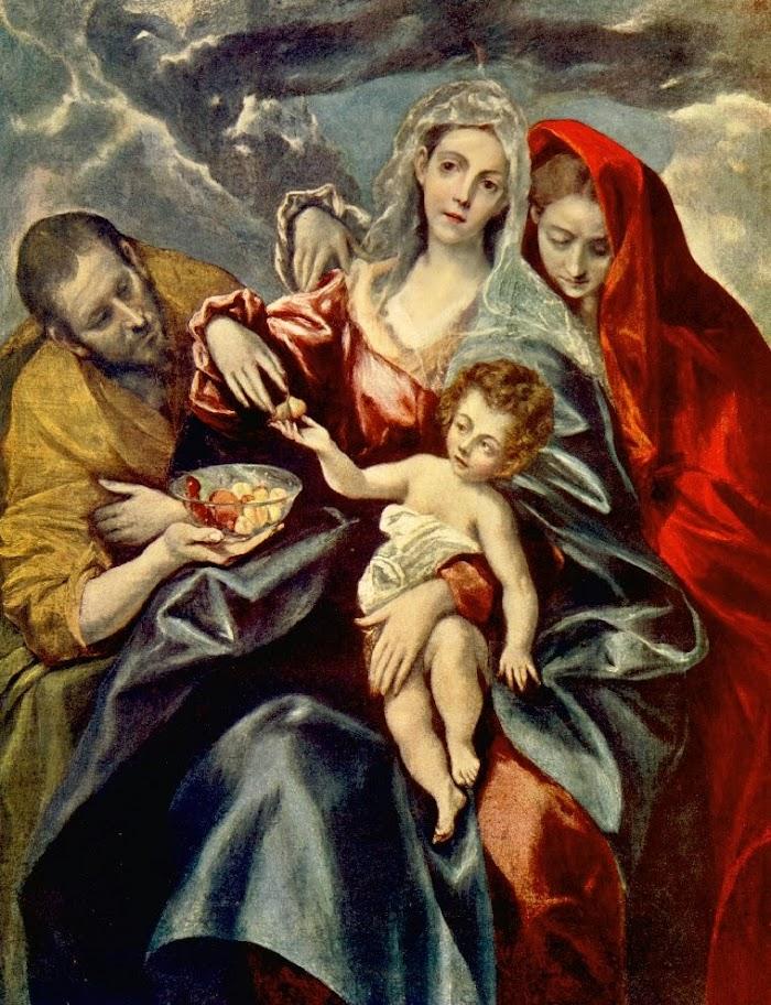El Greco - Sagrada familia