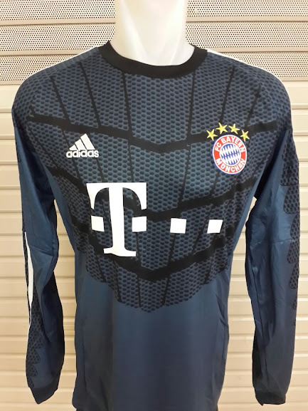 Jersey Kiper Bayern Munchen Lengan Panjang Official 2014-2015