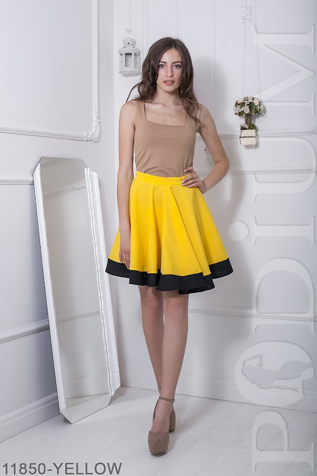 Женская юбка солнце-клеш Warence