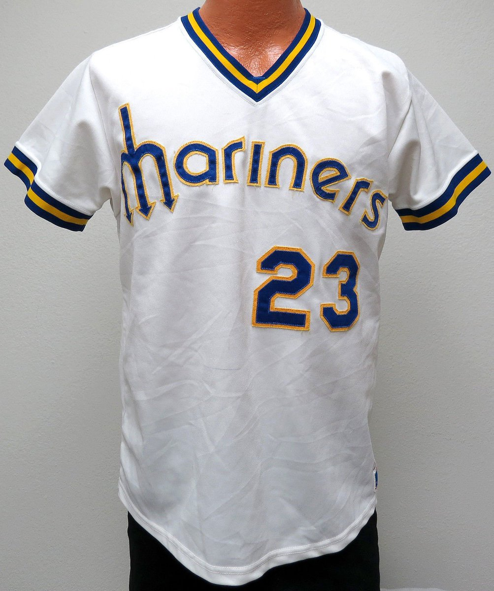 best sneakers aad6a 8227f The Ultimate Baseball Look: Seattle Mariners - Sand Knit Jersey