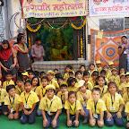Field Trip to Ganpati Pandal (PG-Grade 1) 2013-14