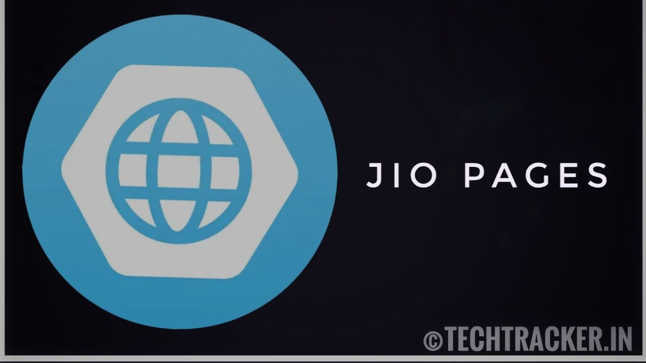 Jio pages - made in India browser from reliance.