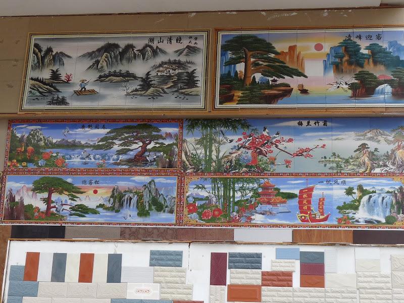 marchands de  carrelage      Tengchong