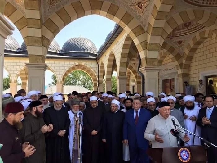 Ulama Internasional Berkumpul di Chechnya: Ini Yang Disebut Ahlusunnah Wal Jama'ah