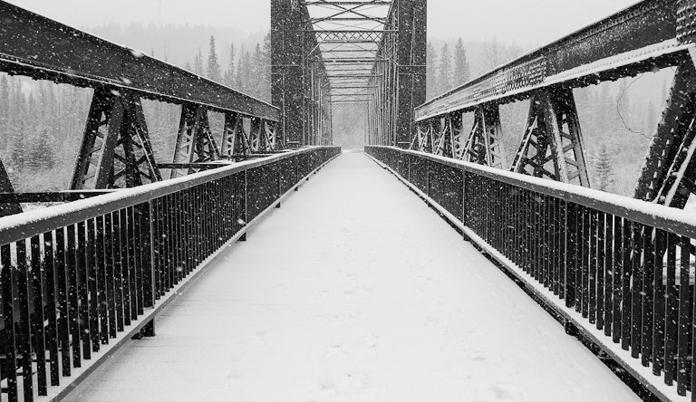Canmore Bridge - Patrick Latter