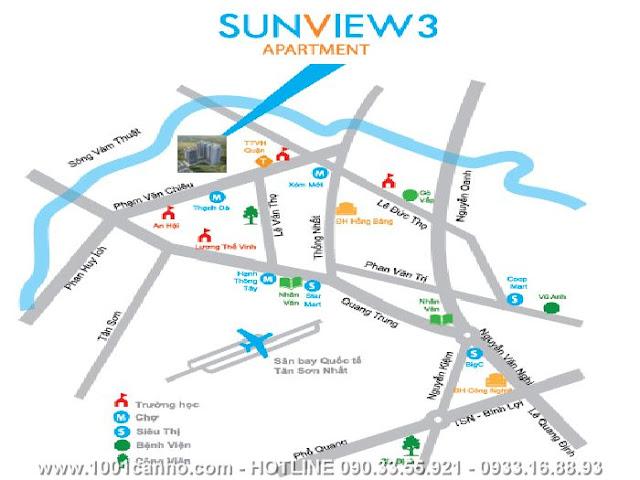 Căn hộ Sunview 3   Gò Vấp