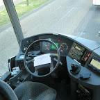 Het dashboard van de Setra van Besseling bus 43