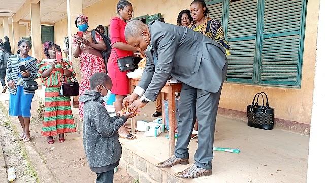 Bafut Mayor promises scholarships as FSLC Begins