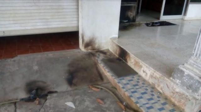 Kantor Anak Cabang PDIP di Bogor Dilempar Bom Molotov.