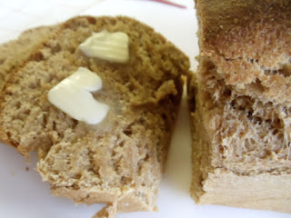Kellie's  Honey Whole Wheat Bread Recipe