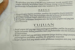 Visi Misi Program Studi PGMI STAIN Jurai Siwo Metro
