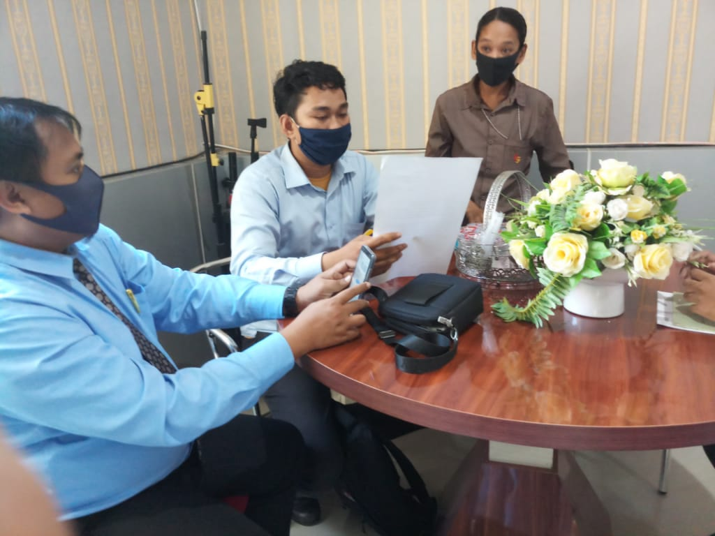 LKBH Makassar Sambangi BPN Gowa Klarifikasi Sertifikat dan Perkara di PTUN Makassar