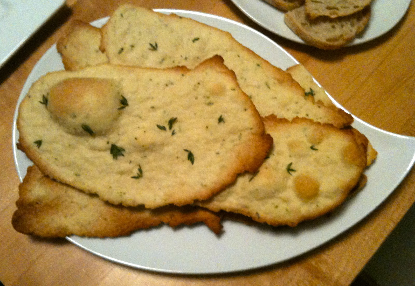 Meal-A-Day: Herbed Flatbread Crackers