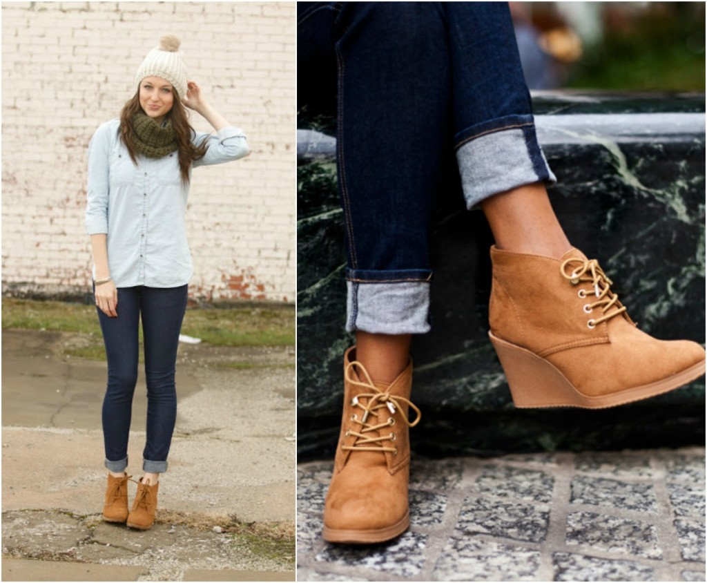 how to wear booties with jeans