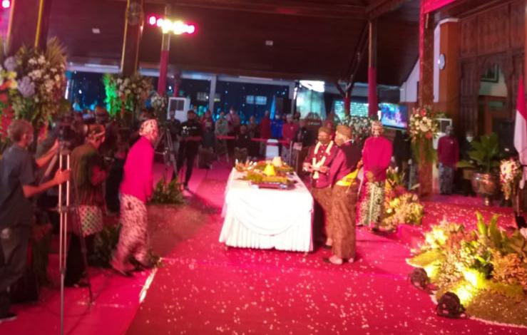 Terapkan Prokes Covid-19, Peringatan Hari Jadi Kabupaten Tulungagung ke 815 Berlangsung Khidmat