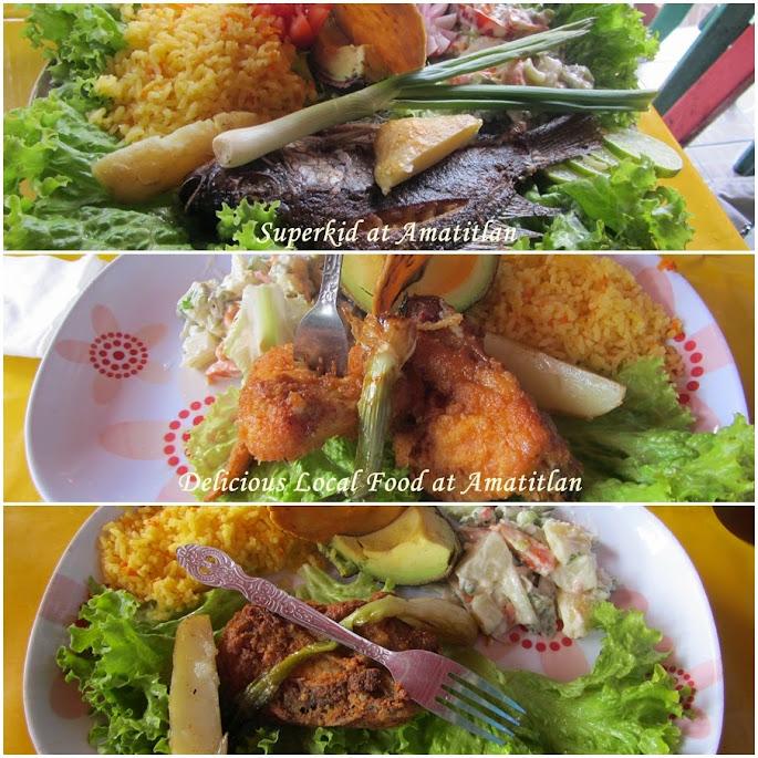 Amatitlán的當地美食