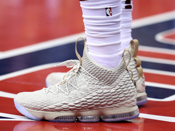 LeBron Goes Off For 57 Points in Nike LeBron XV Ghost