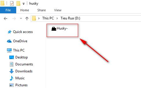 Tặng bạn chú chó Husky biết hát trên Desktop :3