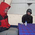smrzavanje u šatoru