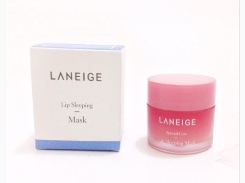 [Review] Laneige Lip Sleeping Mask