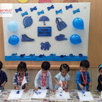 Blue Day Celebration by Playgroup Afternoon Section at Witty World, Chikoowadi (2018-2019)
