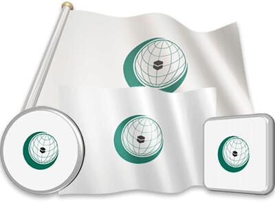 OIC flag animated gif collection