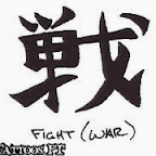 fight war - tattoos for men