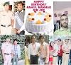 राहुल मनहर सर के वर्षगांठ पर छात्रों में दिखा खुशी का माहौल