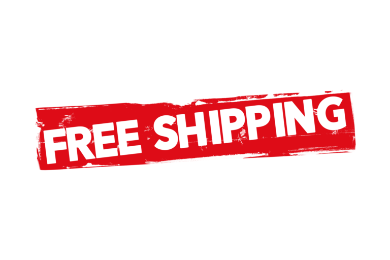 Offering free shipping