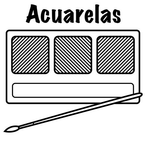DIBUJOS PARA PINTAR DE ACUARELAS