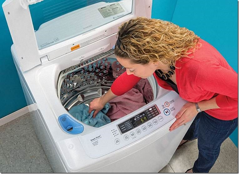 Kinh nghiệm giặt đồ bằng máy giặt không sợ nhăn2