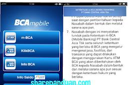 Aktivasi m-Banking BCA melalui BCA Mobile