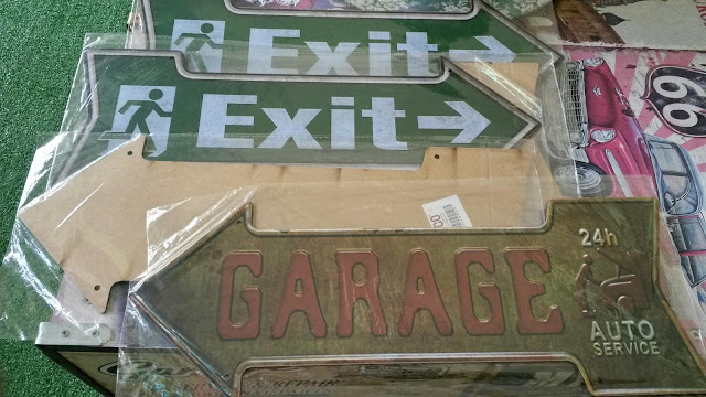 DIY SIGN BOARD DARI PAPAN ARROW KEDAI ECO